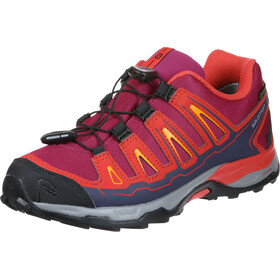 Salomon X-Ultra GTX kengät Lapset, red